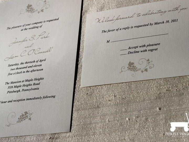 Tmx 1358879948588 Winery Buffalo, NY wedding invitation