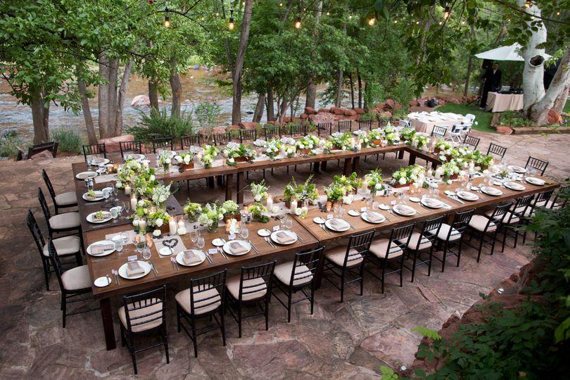 Creekside Farm Table