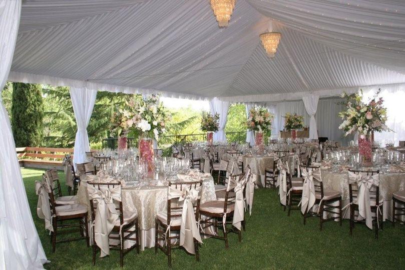 Garden Reception tent
