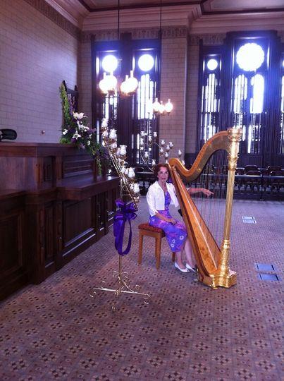 Harp performance