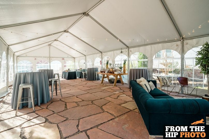 Patio - Tented
