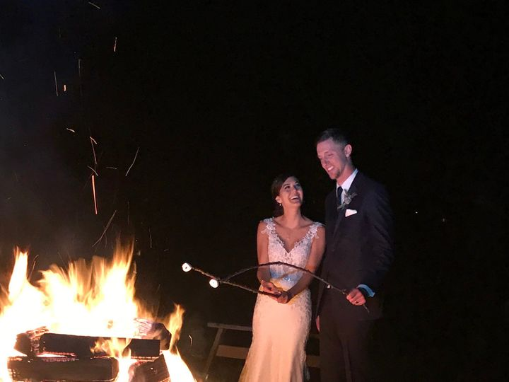Tmx Brown Wedding Couple Bonfire 51 129978 1571925168 Wallkill, NY wedding venue