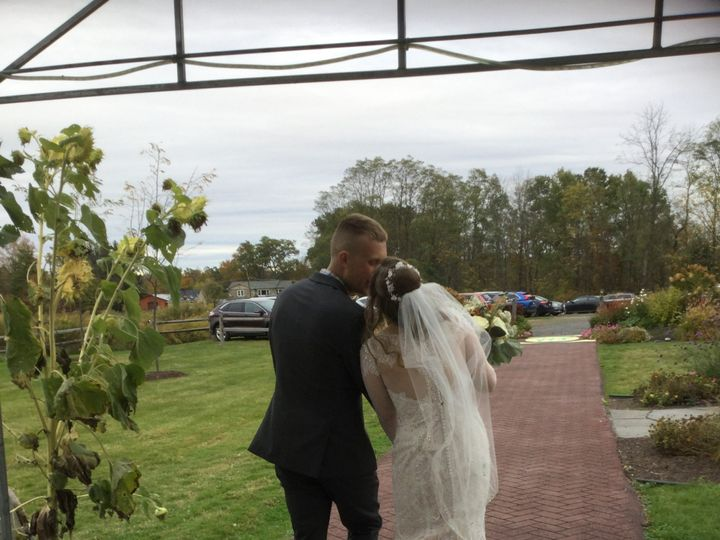 Tmx October 11th 2019 Couple Kissing Outside 51 129978 1571753743 Wallkill, NY wedding venue