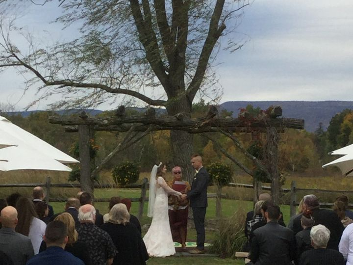 Tmx October 11th 2019 Outdoor Ceremony 51 129978 1571924652 Wallkill, NY wedding venue