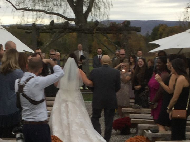 Tmx October 12th 2019 Walking Down Aisle 51 129978 1571924636 Wallkill, NY wedding venue
