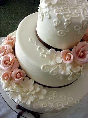 Wedding cake texture