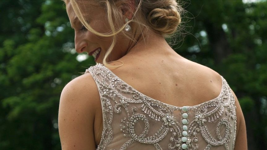 A snapshot of the bride!
