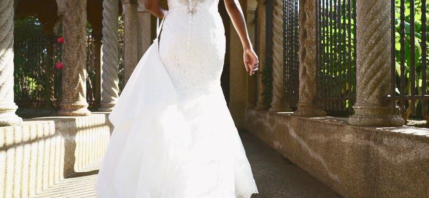 A snapshot of the bride walk!