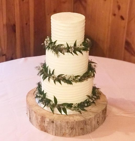 Greenery and buttercream