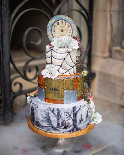 Halloween Steampunk Wedding