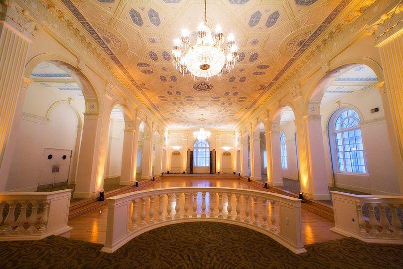 imperial ballroom empty