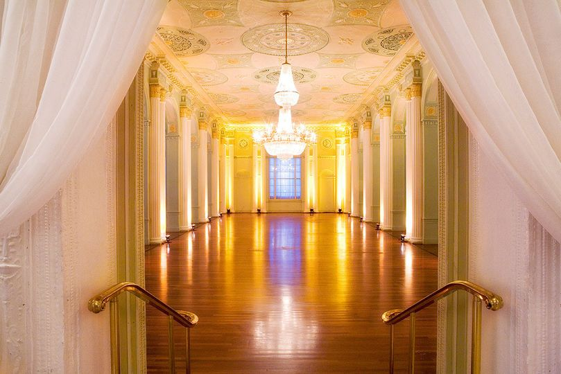 georgian ballroom empty