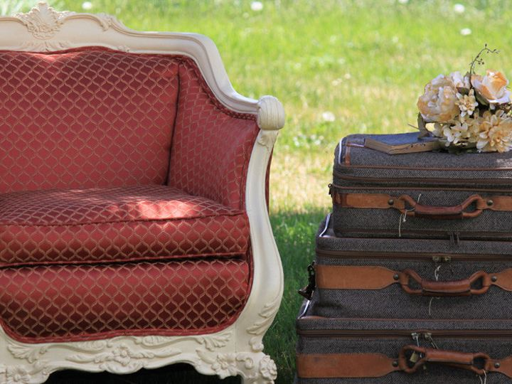 Tmx 1414791809261 Elizabeth Chair With Suitcases Denver wedding rental