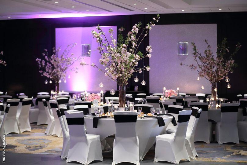 Grand ballroom setup
