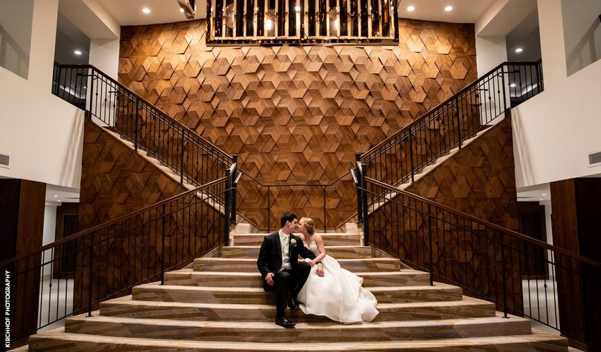 Bride & Groom Grand Staircase