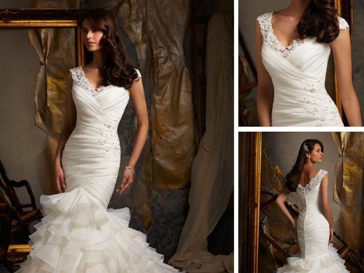 Tmx 1420687421675 2013 Mermaid Tail Font B Wedding B Font Font B Dre Occoquan, District Of Columbia wedding dress