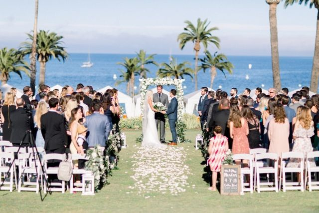 Ceremony on Terrace lawn