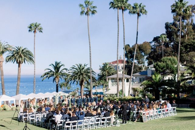Ceremony on the Terrace Lawn