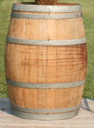 Our wine barrels