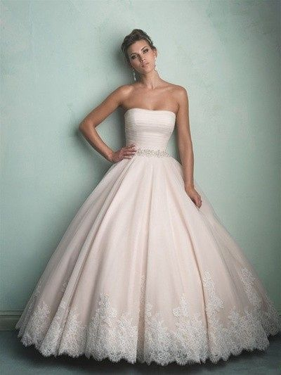 Balloon wedding gown