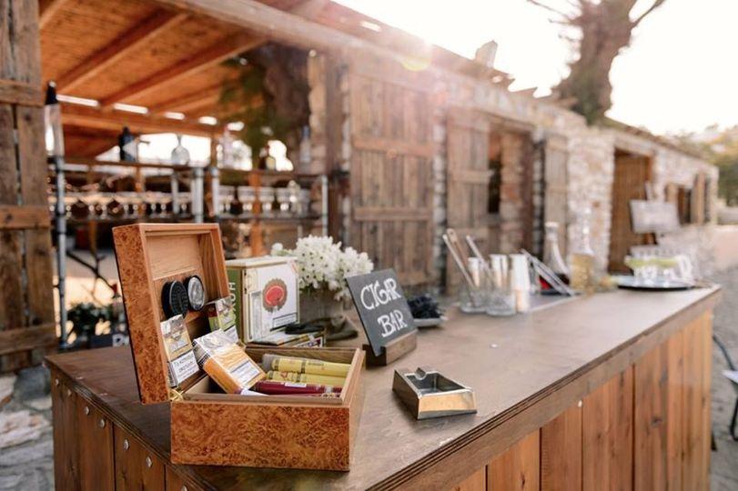 Bar Catering Paros Wedding