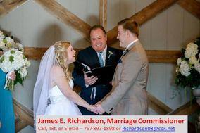 James EmRichardson, Marriage Commissioner ner