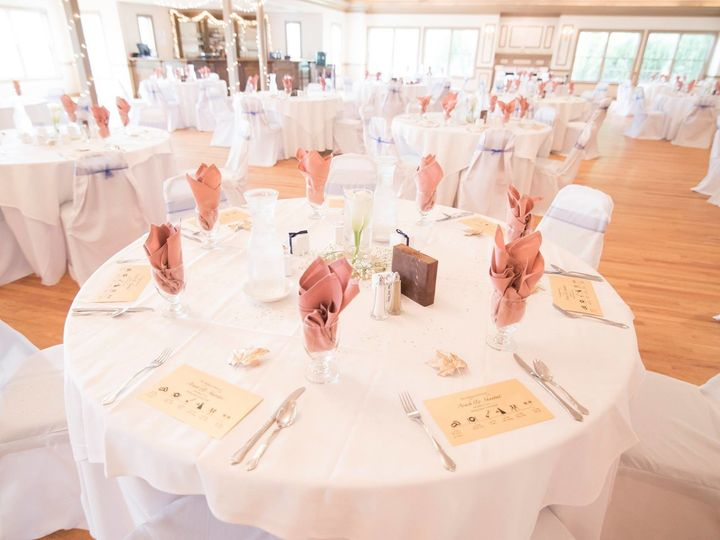 Tmx 1514659355771 Blush Napkins Adn Chair Covers Front Royal, VA wedding venue