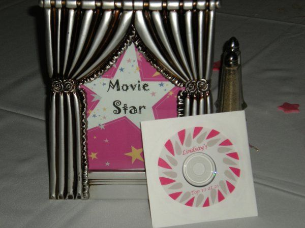 Table number Display and Party Favor