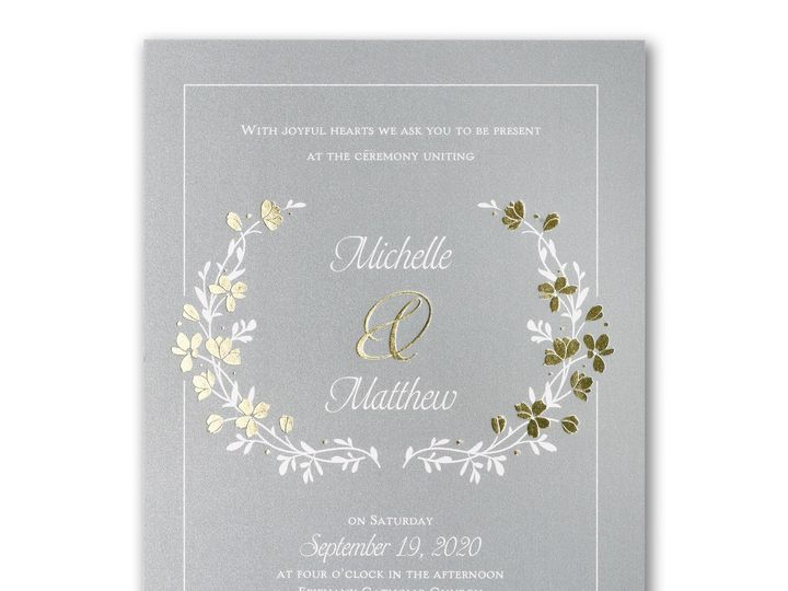 Tmx 1489072012322 3124bs40002lb2zm Alexandria, VA wedding invitation