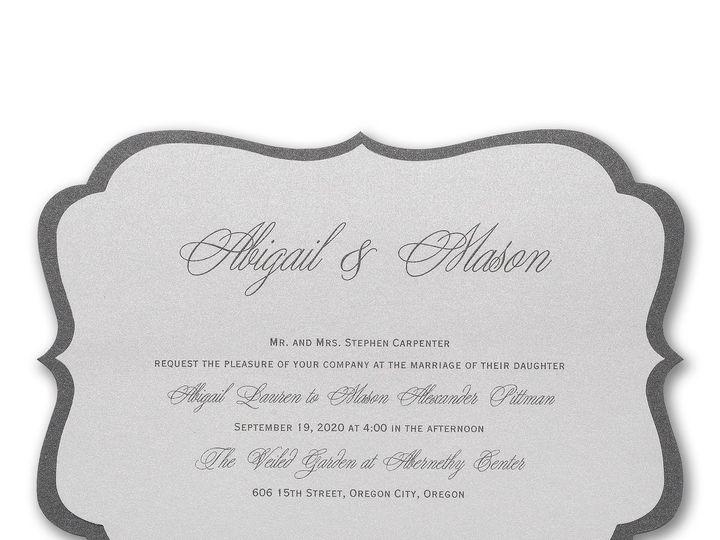 Tmx 1489072112957 Classiclayers3124bsn40129zm Alexandria, VA wedding invitation