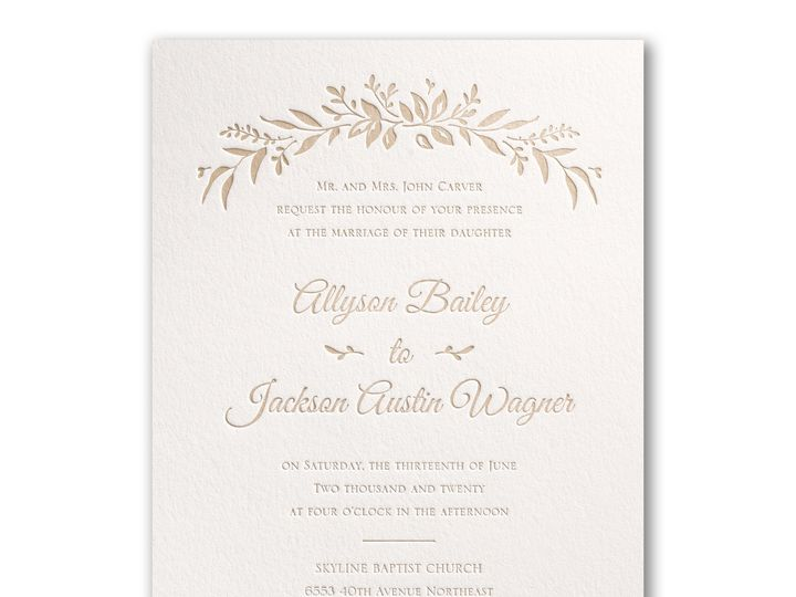 Tmx 1489072353780 Wildflowerbliss3124bs39990pwzm Alexandria, VA wedding invitation