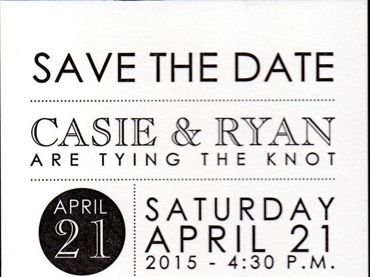 Tmx 1489072524192 Savethedate Goodness001 Alexandria, VA wedding invitation
