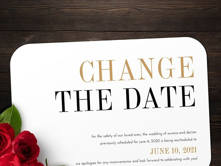 Tmx Change The Date 51 1188 159269787076442 Alexandria, VA wedding invitation