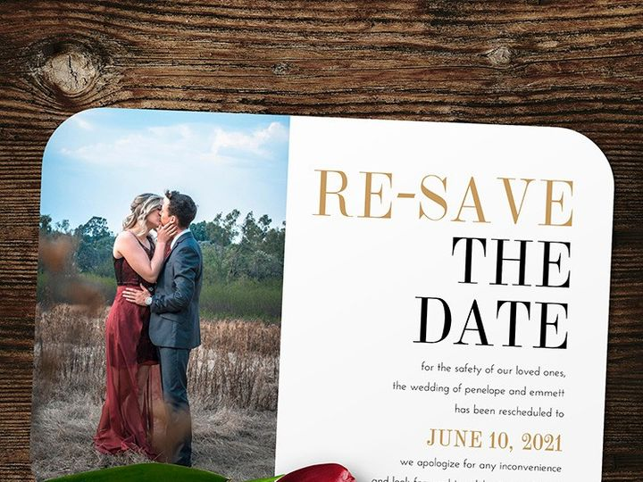 Tmx Re Save The Date 51 1188 159269788284858 Alexandria, VA wedding invitation