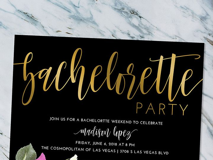 Tmx Script Bachelorette 51 1188 Alexandria, VA wedding invitation