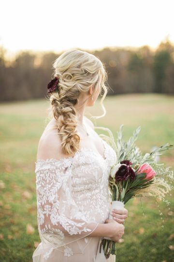 A sweet bride