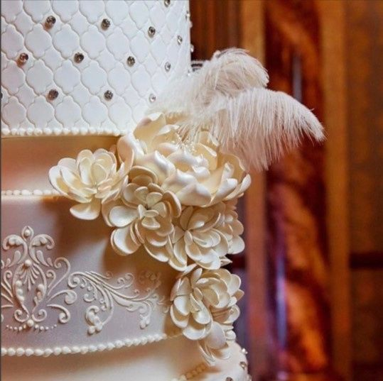 Tmx 1487294730384 Feather Ridgefield Park, New Jersey wedding cake