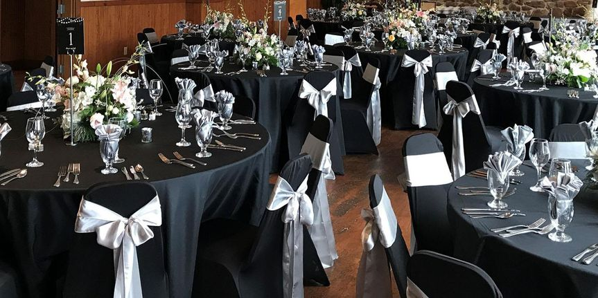 Black and white reception colorway