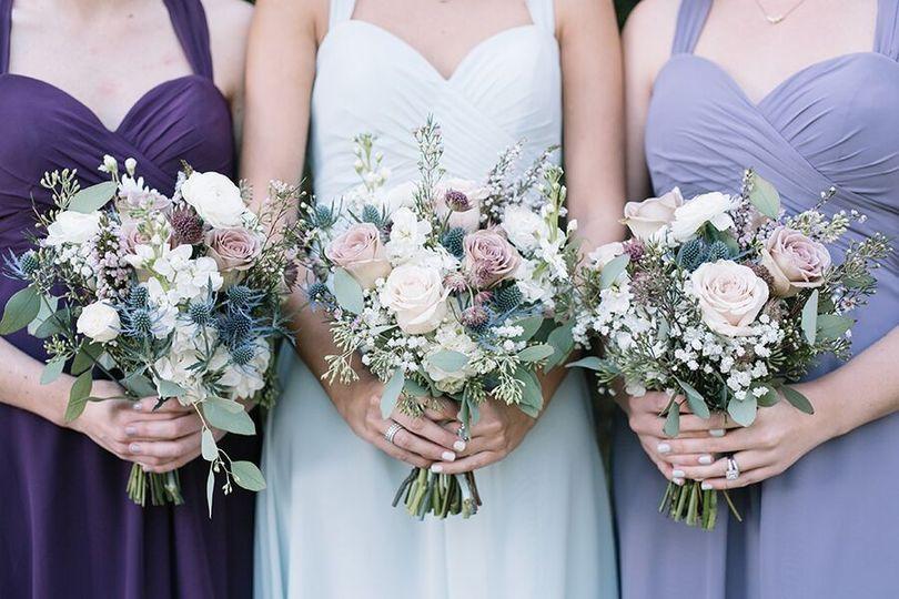 Three summer bouquets