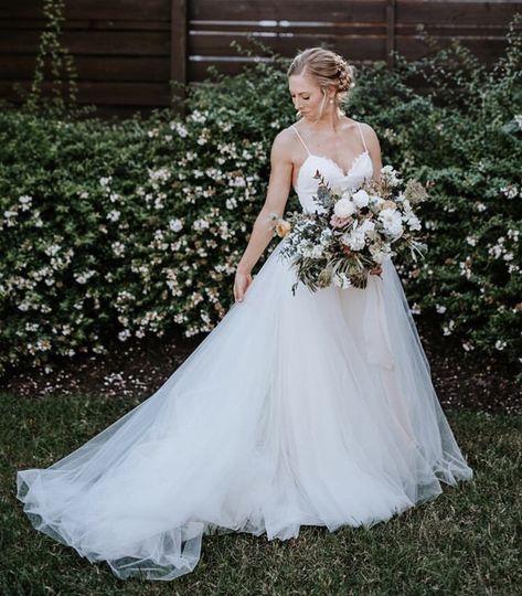 Garden luxury wedding