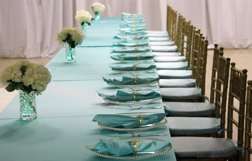 Table and plate setting