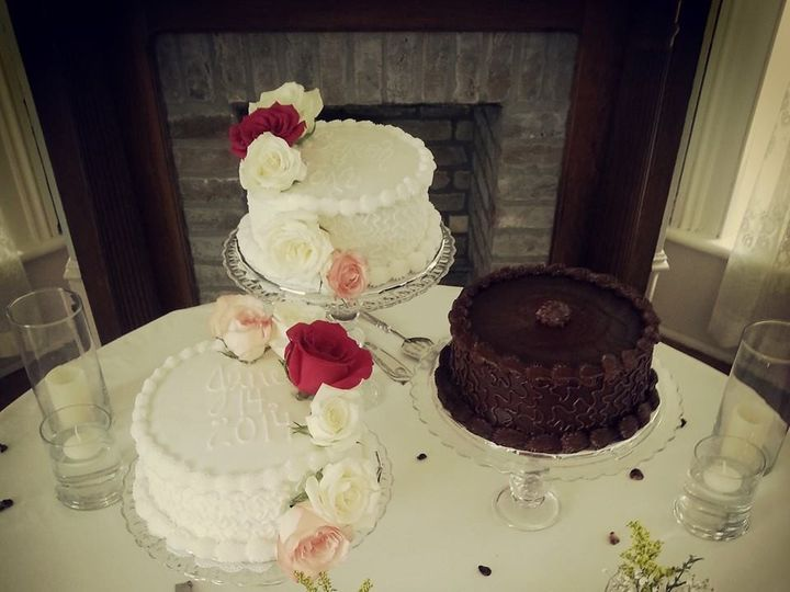 Tmx 1454171722587 Shabby Chic Wedding New Braunfels, TX wedding cake