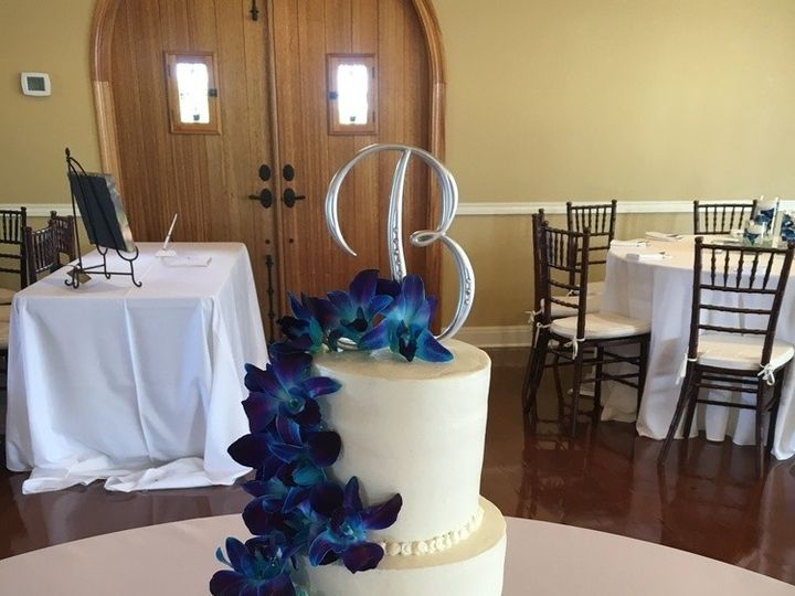 Tmx 1468163713452 Johnson Blue Orchid Wedding4wm New Braunfels, TX wedding cake
