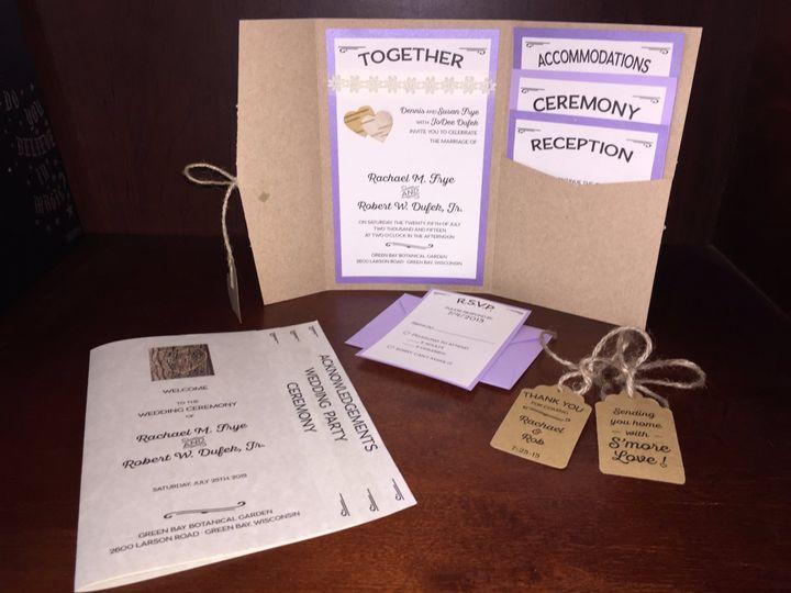 Rustic Invite & Program