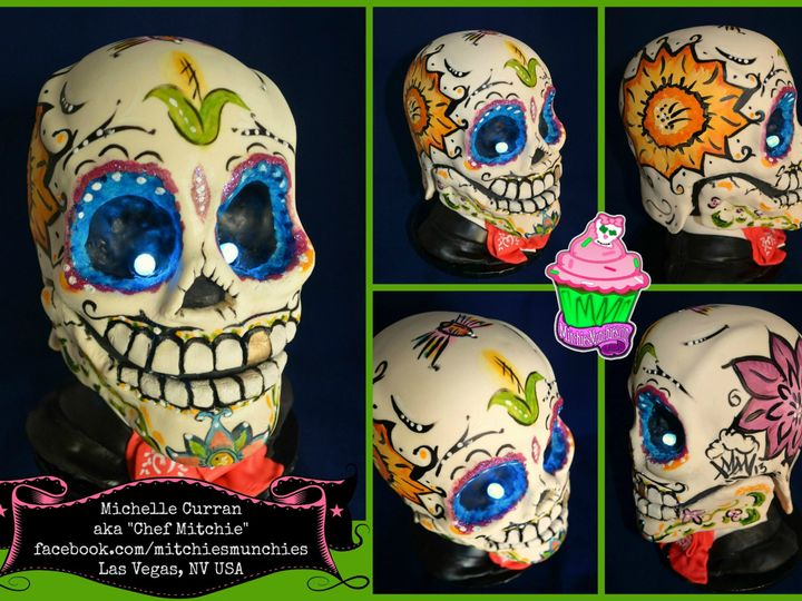 Tmx 1390712027938 Mm Sugarskullbakers 201 Las Vegas wedding cake