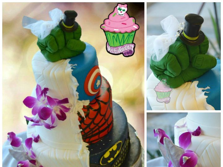 Tmx 1426632407645 Mm Esposo Collage 091214 Las Vegas wedding cake