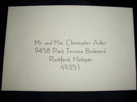 Tmx 1211859169304 447 Envelope M Caledonia wedding invitation