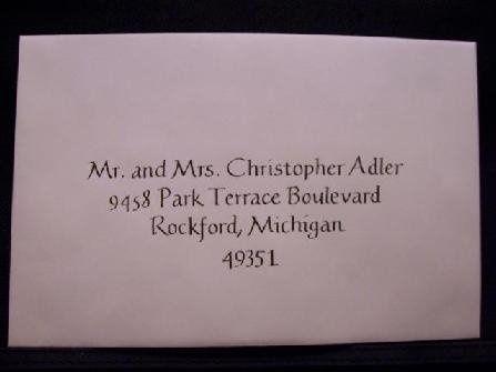 Tmx 1211859245382 447 Envelope T Caledonia wedding invitation