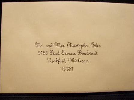 Tmx 1211859275898 447 Envelope V Caledonia wedding invitation