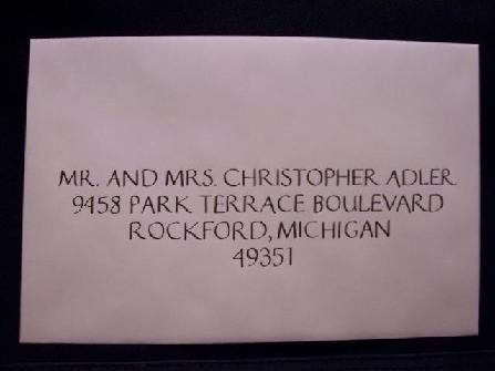 Tmx 1211859296039 447 Envelope W Caledonia wedding invitation